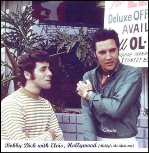 Elvis and Bobby Dick