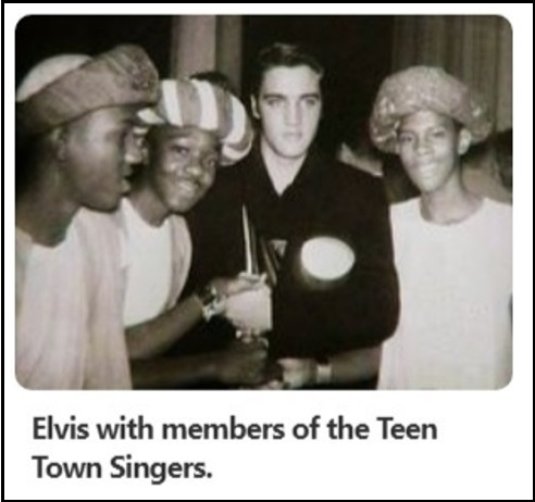 Elvis and the Teen Town Singers