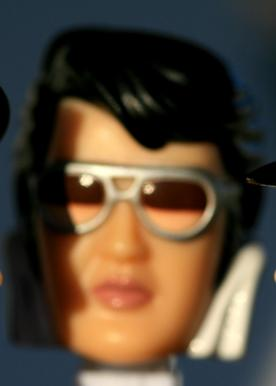 PEZ Elvis Close-up