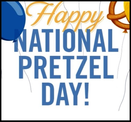 Happy National Pretzel Day