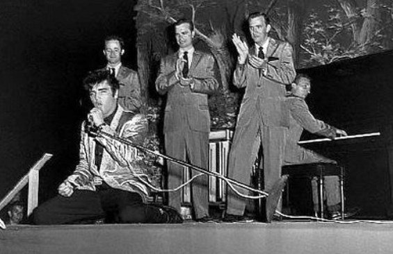 1957 Elvis Seattle concert