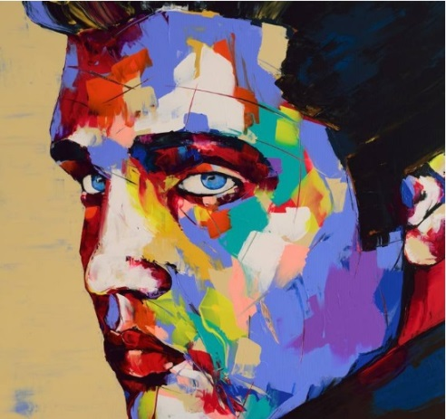Elvis Painted by Oleg Cameira