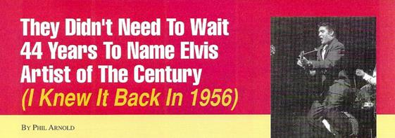 Elvis International Article