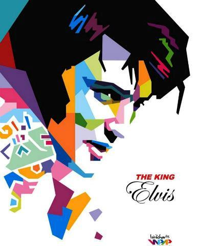 The King Elvis by Istikhar on Deviant Art
