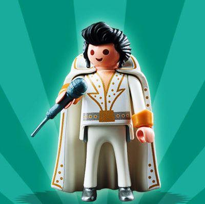 LEGO Elvis Minifig Impersonator