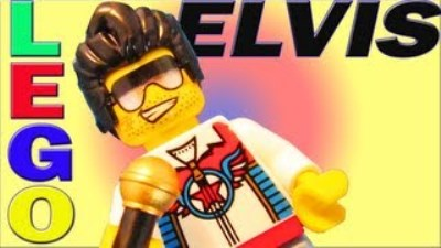 LEGO Elvis Sign