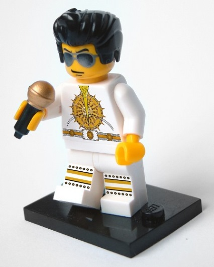 Sundial Jumpsuit LEGO Elvis