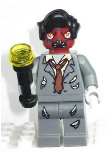 Zombie LEGO Elvis