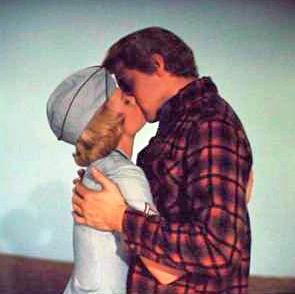 Elvis Kissing Cynthia Pepper