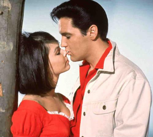 Elvis Kissing Yvonne in Kissin' Cousins
