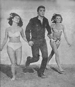Elvis Running with Yvonne and Pam