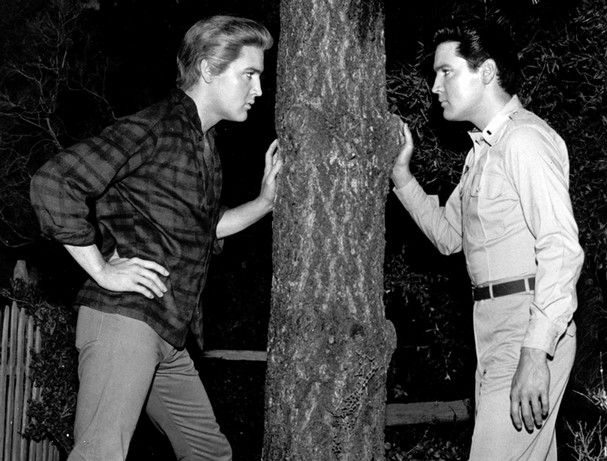 Elvis as Jodie and Josh in Kissin' Cousins