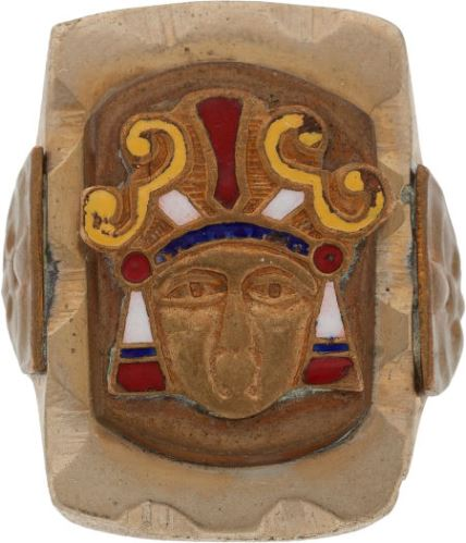 Elvis-Gifted Indian Head Ring