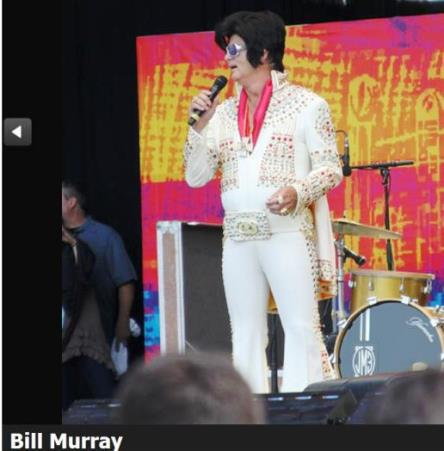 Bill Murray at Crossroads Festival
