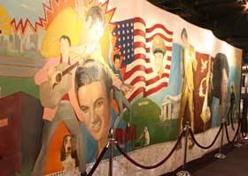 Elvis-A-Rama Wall Mural