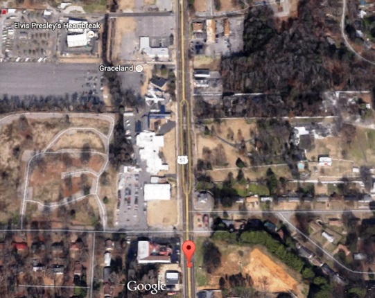 Aerial View of Graceland Area