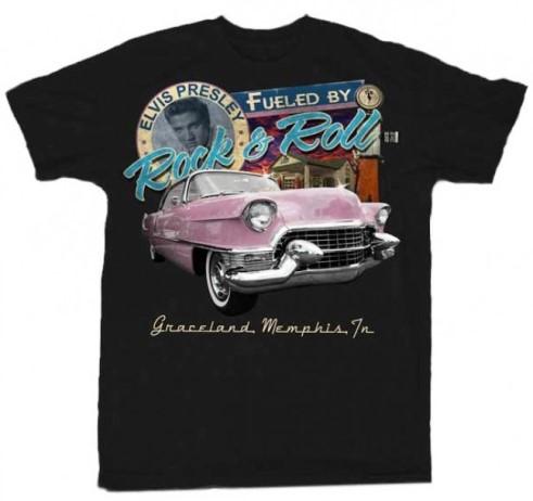 Elvis Presley Fueled By Rock 'N Roll T-Shirt