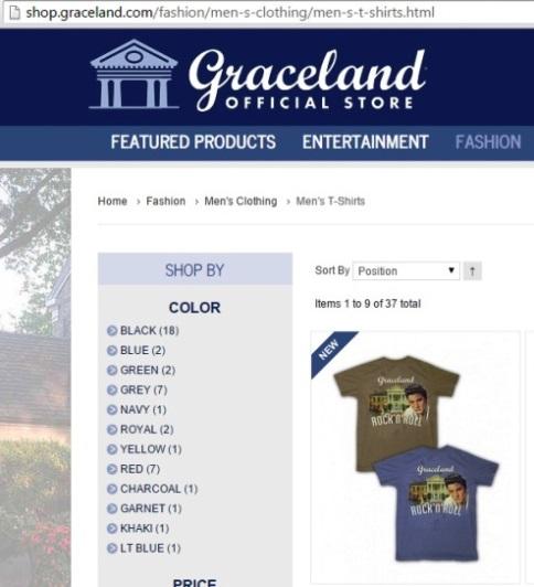 ShopGraceland.com