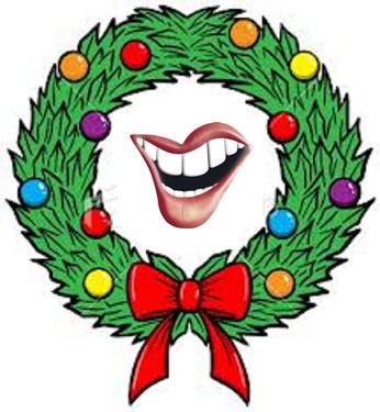 ElvisBlog Christmas Wreath