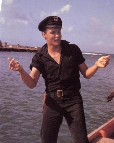 Elvis Wearing Short Sleeve in Girls, Girls, Girls