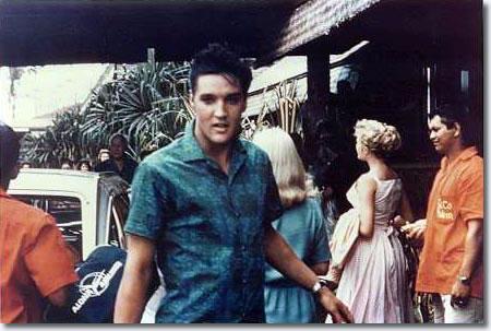 Elvis in Short Sleeve Like a Regular Tourist