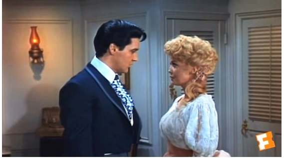 Donna Fussing at Elvis in Frankie and Johnny