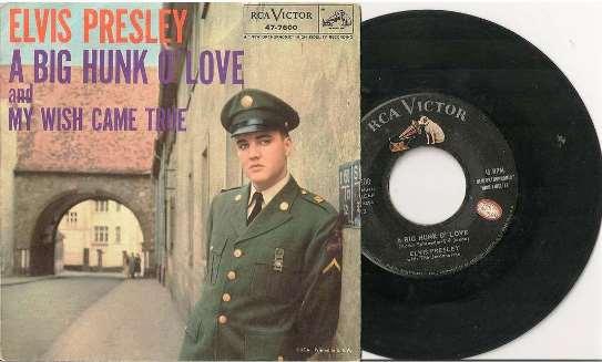 Elvis Hit - A Big Hunk of Love