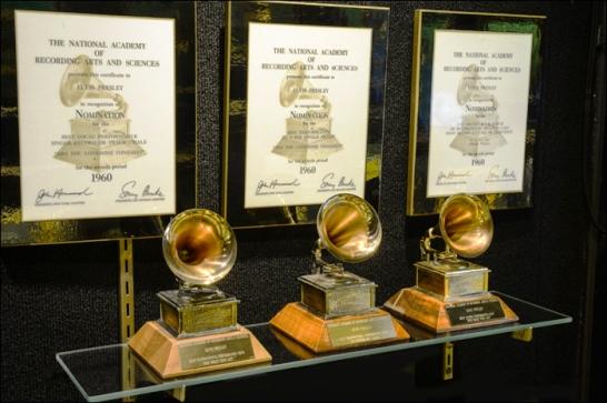 Elvis Presley's Three Grammy Awards