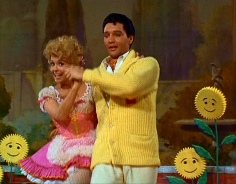 Elvis and Donna Douglas Dancing in Frankie and Johnny
