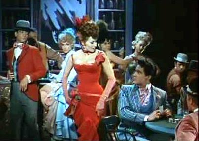 Nancy Getting Elvis' Eye in Frankie and Johnny