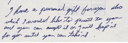 Elvis' Letter to Nixon - A Personal Gift for You