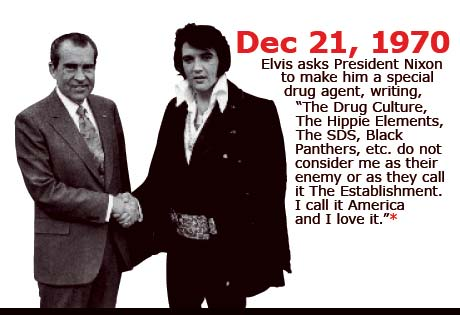 Elvis' Letter to Nixon - The Hippie Element in Text
