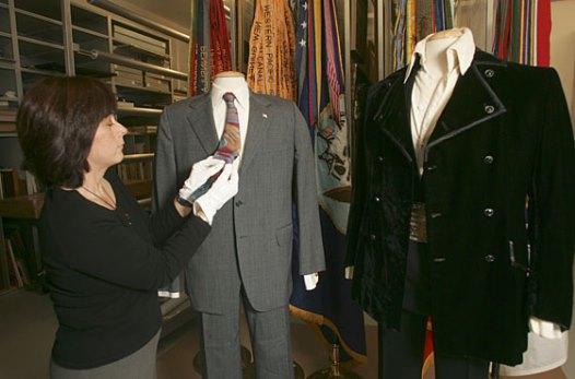 Noxon's and Elvis' Suits on Display 2007 Nixon Museum