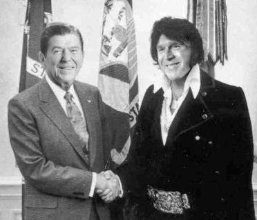 Reagan and George Bush