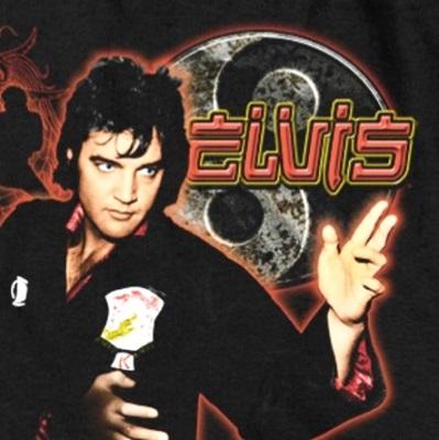Elvis Karate Blow-Up