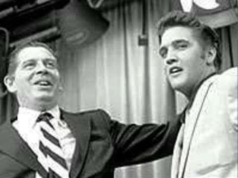 Milton Berle and Elvis