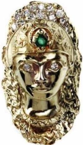 Elvis Presley's Chieftain Ring -- Top View