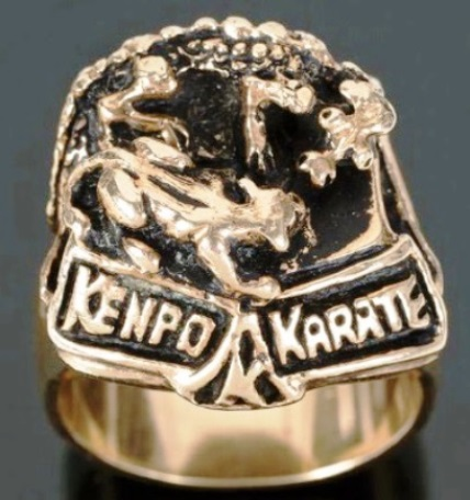Elvis Presley's Kempo Karate Ring