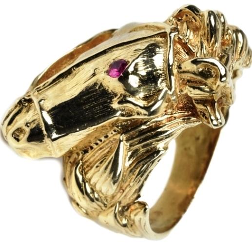 Elvis Presley's Ugly Horsehead Ring